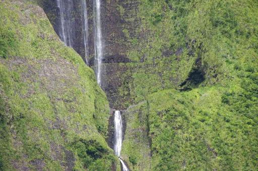 Vue sur la cascade Blanche.