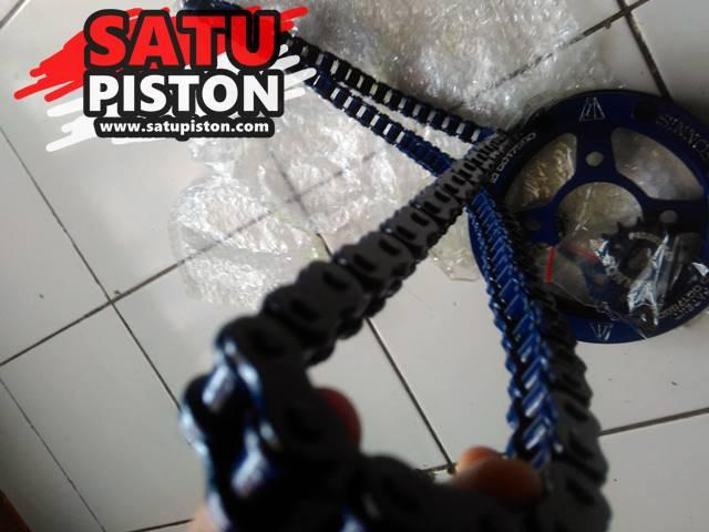Panjang Rantai Vixion, Tiap Generasi Beda-Beda Panjangnya !!!