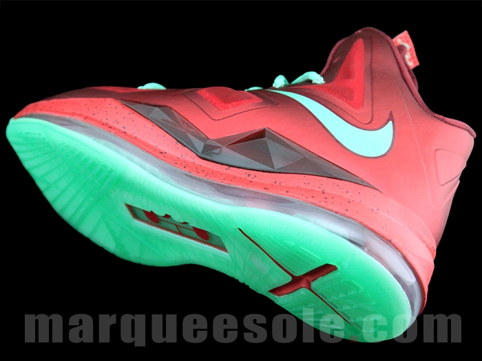 4367fa92520 ... First Look Nike LeBron X Christmas 8220Ruby8221 ...