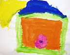 My Home with a pink door by Sara - 5yrs
