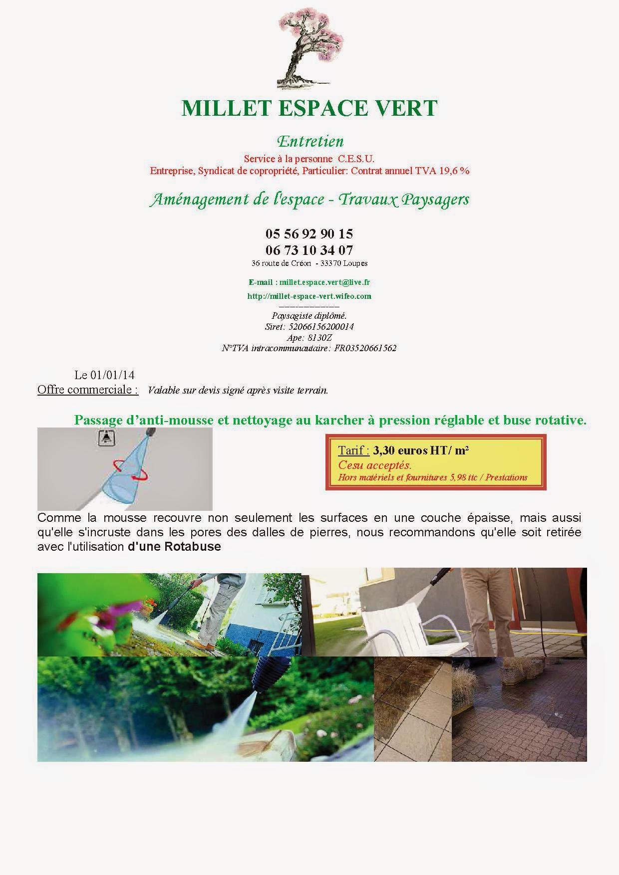 Unique entreprise espace vert id es de salon de jardin for Offre espace vert