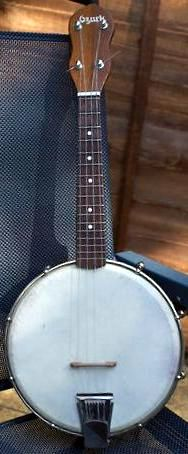 musima made Ozark Banjolele banjo ukulele from the 1970's