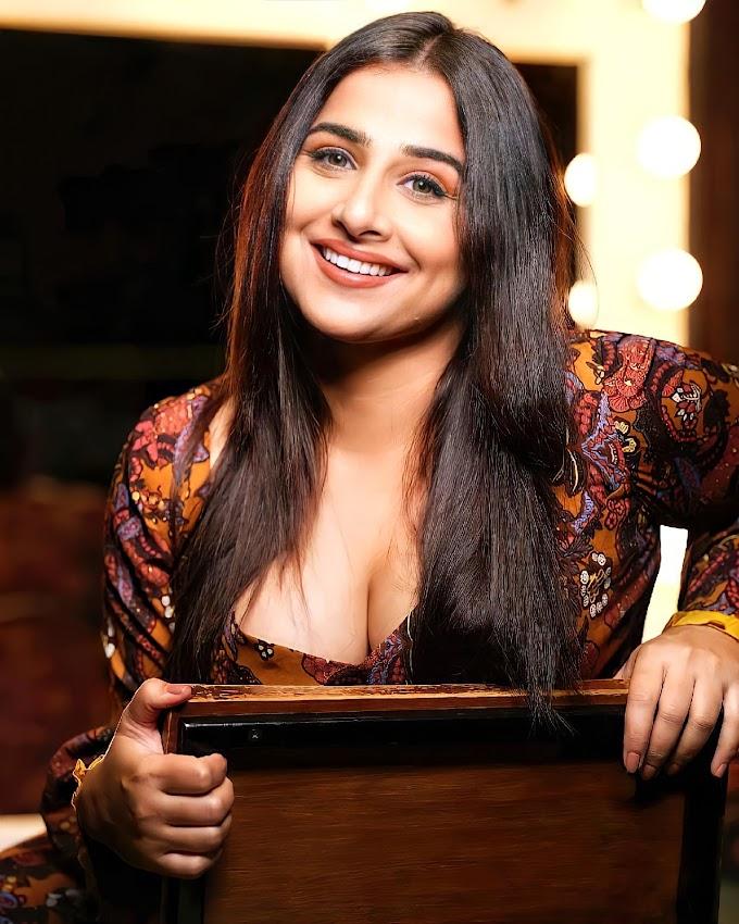 Bollywood Actress Vidya Balan Sexy Hot Pics