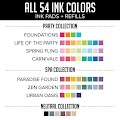 All Inks & Refills Bundle