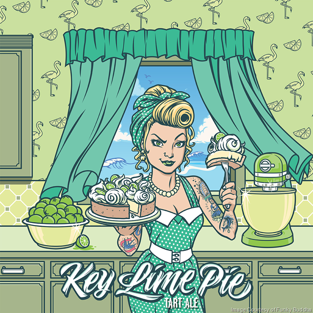 Funky Buddha Key Lime Pie Tart Coming In June