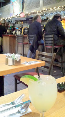 Vacation means a margarita for lunch