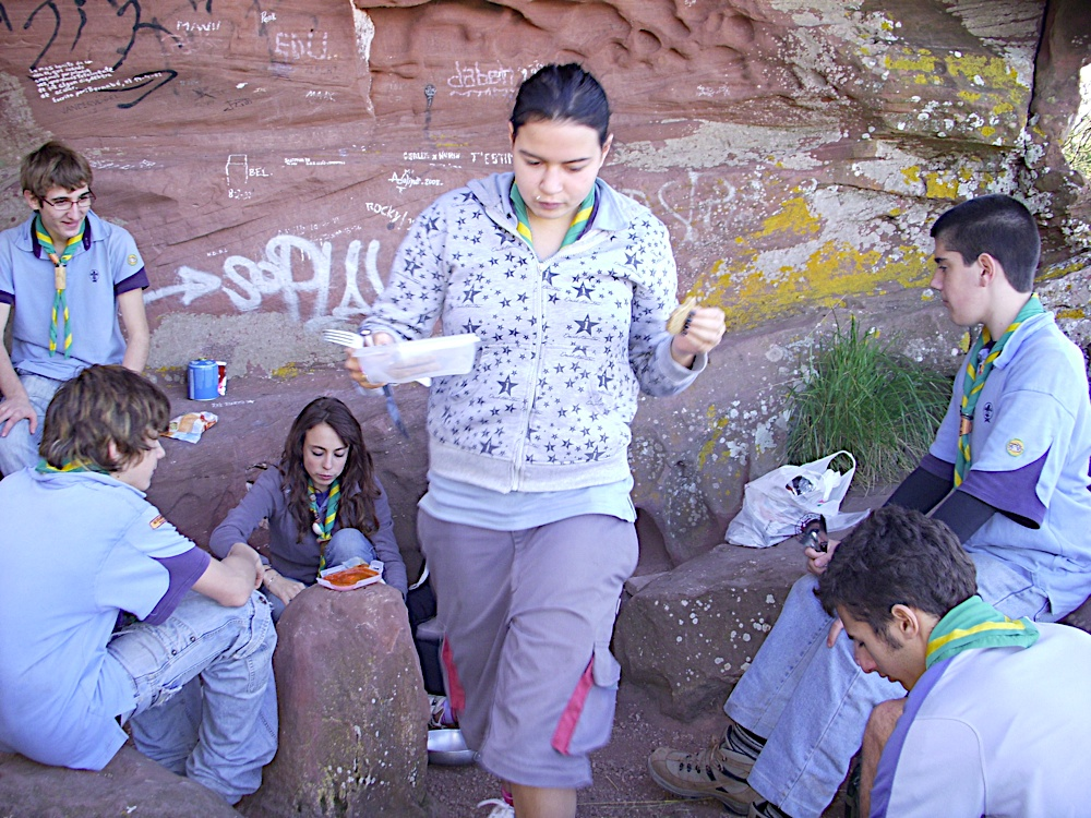 Sortida Castell Eramprunyà - Pioners 2009 - DSCN1007.JPG