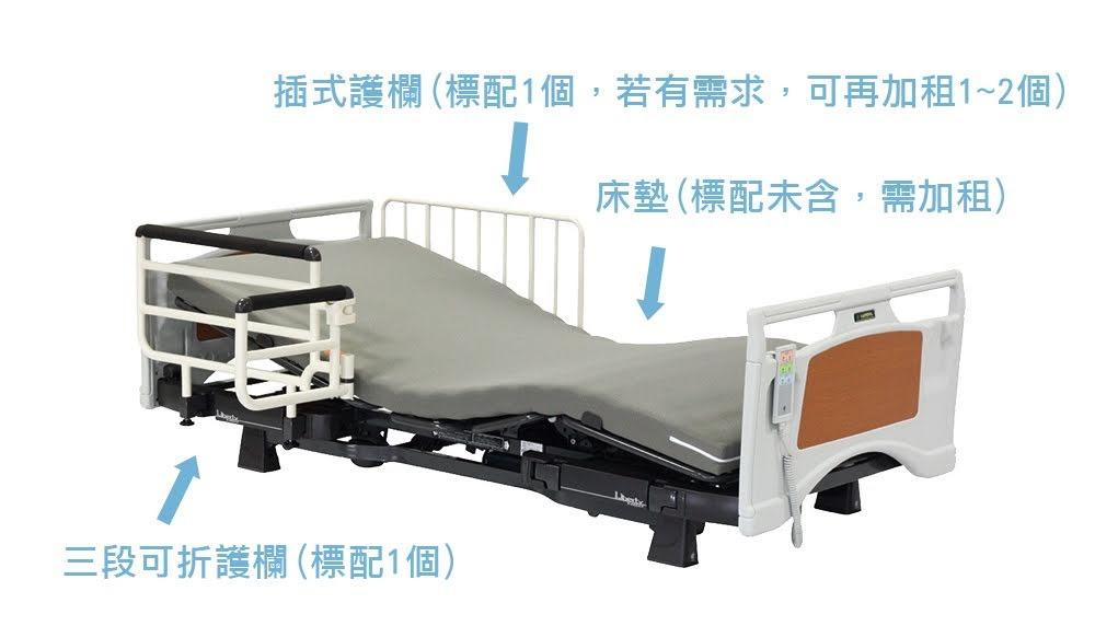 床墊柵欄租賃部分