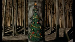 18 le sapin entrée de Noël