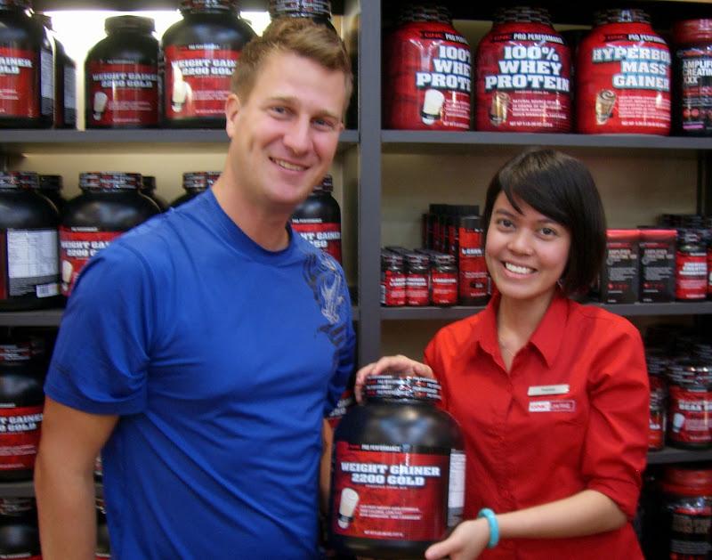 Torge zeigt Interesse an Muskelaufbaupräparaten