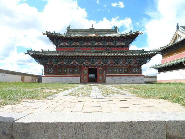 Erdene Zuu Khiid klooster.