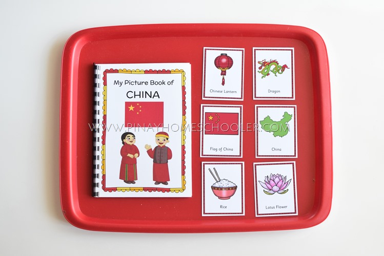 China Learning Pack Reading Materials Activity Pages and Cards