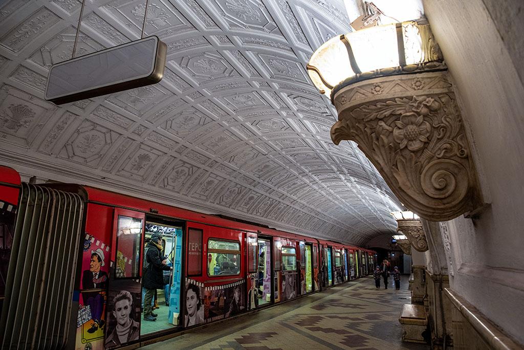 俄羅斯 莫斯科 地鐵站 Moscow metro Belorusskaya