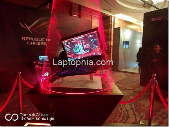 Asus ROG Zephyrus GX501, Laptop Gaming Bertenaga GeForce GTX 1080 Tertipis