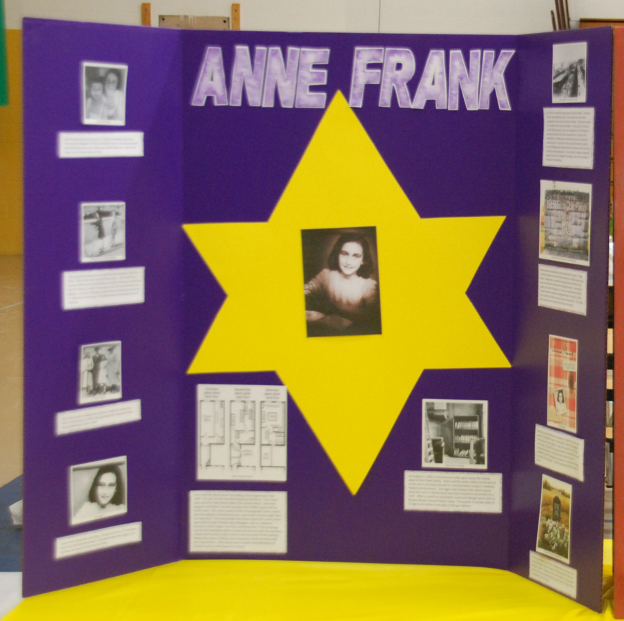 anne frank project Holocaust remembrance day grows roots: anne frank & the sapling project looking out of the window of her secret annex, anne frank saw beauty in a chestnut tree as the horrors of the holocaust were.