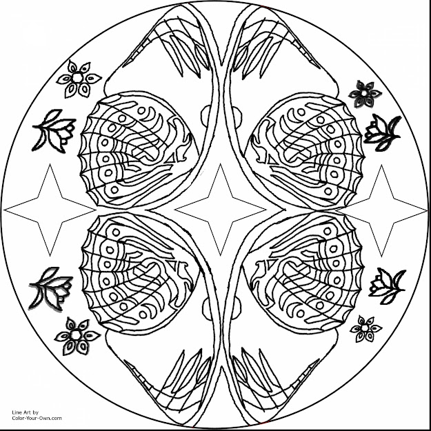Top Butterfly Mandala Coloring Pages Printable Library