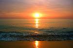 Final Vietnamese sunset over the Gulf of Thailand