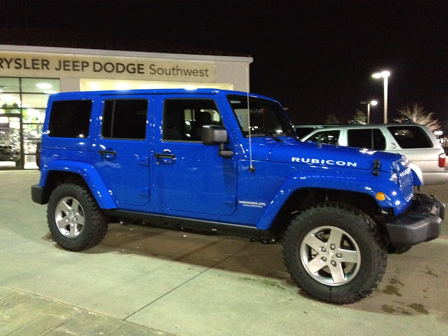 Jeep Hydro Blue Pearl Autos Post