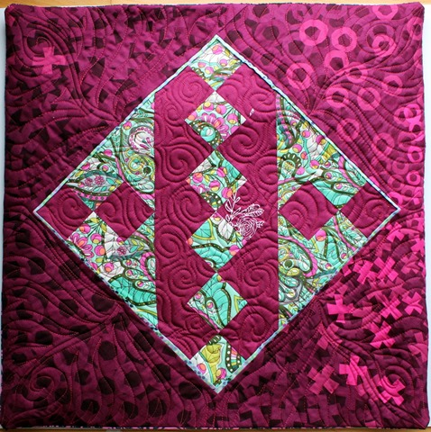 Jacob's Ladder Quilt Block by Kim Lapacek