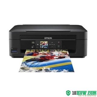 How to Reset Epson XP-303 inkjet printer – Reset flashing lights error