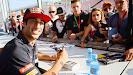Daniel Ricciardo signing session