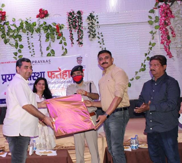 अपने लिए हर कोई जीता है लेकिन सोसायटी, देश-प्रदेश में नशामुक्ति के लिए हमें आगे आना होगा : एडीजीपी श्रीकांत जाधव