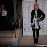 WWW.ENTSIMAGES.COM -  Amelia Lily    arriving at a Fundraising event in aid of Cancer Research UK at The Roof Gardens Kensington High Street, London April 3rd 2013                                                    Photo Mobis Photos/OIC 0203 174 1069