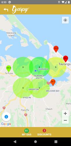 Gaspy - NZ Fuel Prices screenshots 2