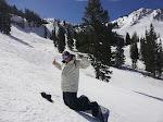 Craig and I snowboard