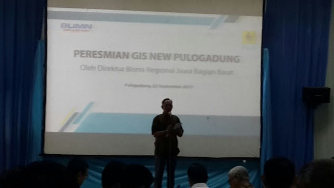 Peresmian GIS (Gas Onsilated Switchergear) Pulogadung
