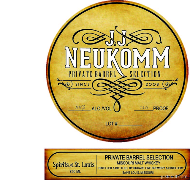 JJ Neukomm Spirits Of St. Louis Private Barrel Selection