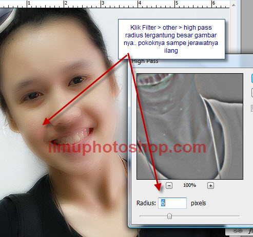 Cara mudah memperhalus Kulit dengan photoshop