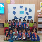Blue Day Celebration by Nursery Evening Section at Witty World, Chikoowadi (2018-19)