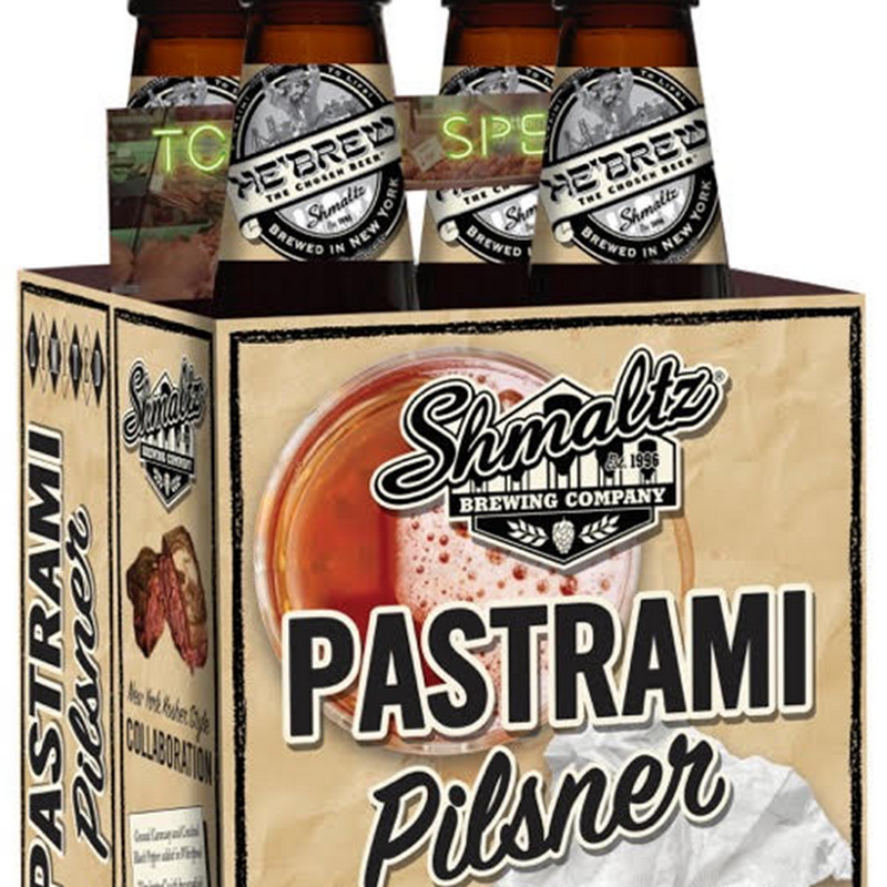 "Shmaltz Brewing and Barcade Launch Nationally ""Pastrami Pilsner"" in 4-Packs in 30 States"