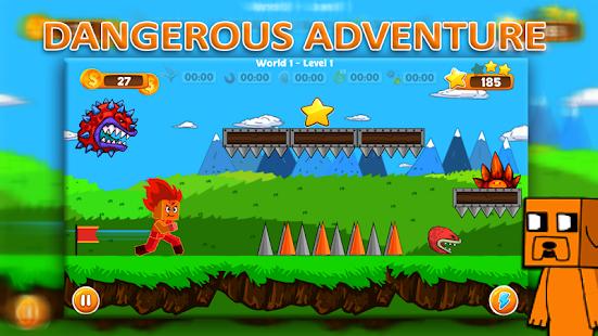 Adventurous Boy -  Jump and Run - náhled