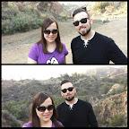 Christian and I at Bronson Canyon