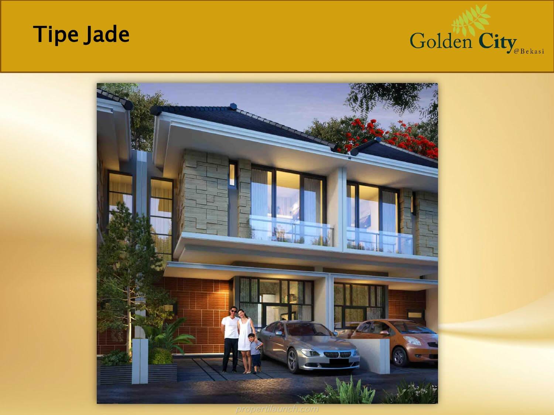 Rumah Jade Cluster Diamond Golden City Bekasi