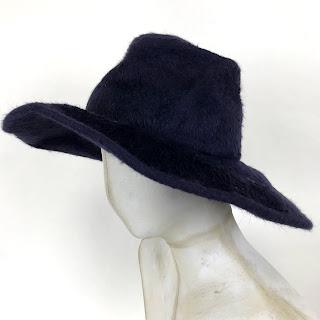 Ellen Christine Millinery Navy Hat