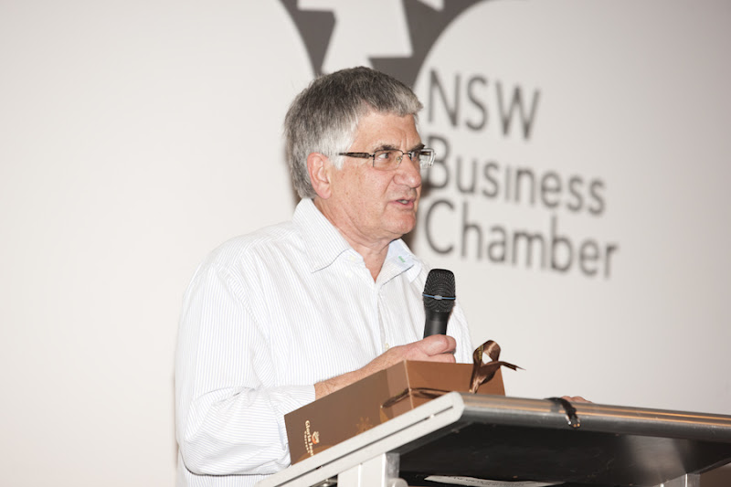 Sydney Launch - Peter Irvine shares the impact of education in his life