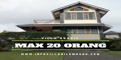 villa murah di bandung lembang untuk rombongan