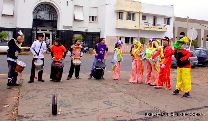 Carnaval de Invierno en Necochea