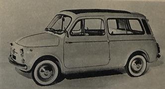 Fiat 1960 500 Jardinière
