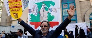 Des milliers d'Iraniens manifestent contre Ryad après leur exclusion du hajj.