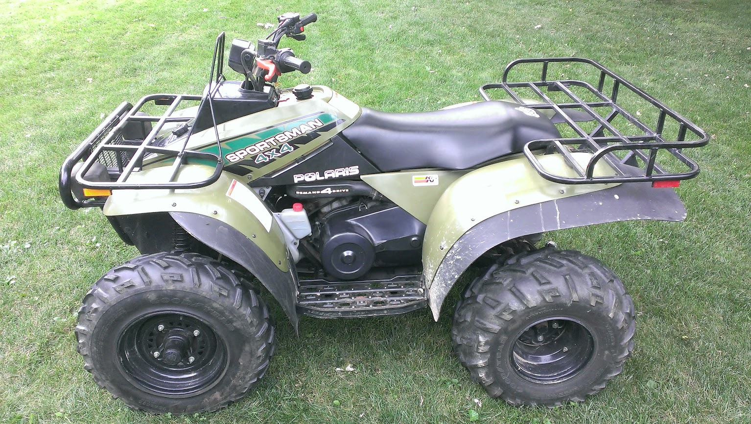 Polaris Sportsman 400 >> Newbie With An Oldie 94 Sportsman 400 Atvconnection Com Atv