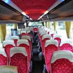 Het interieur van de VDL Bova Futura Classic van Betuwe Express bus 186