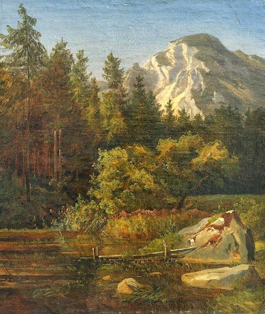 Johann Wilhelm Schirmer - Alpenlandschaft