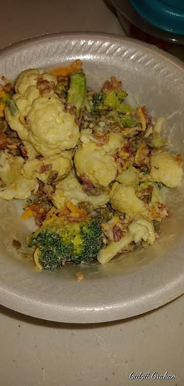 Mama's Broccoli & Cauliflower Salad