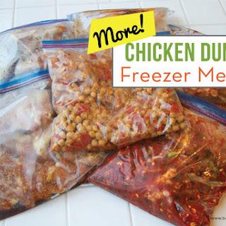 MORE Chicken Dump Freezer Meals Recipe