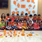 Orange Day celebration by Nursery Section ( 2016-17 ) at Witty World, Bangur Nagar
