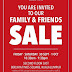 30 Sep-1 Oct 2016 L'oreal family and friends sale